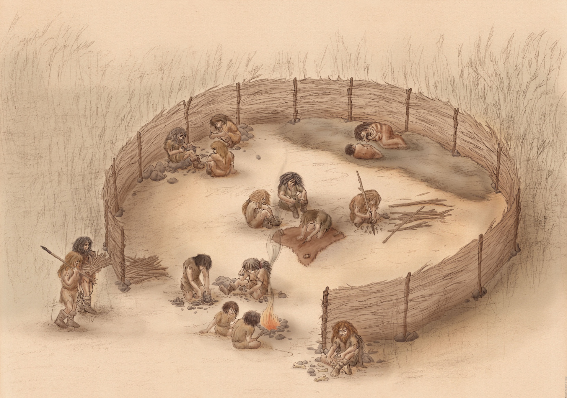 Structure And Characteristics Of Prehistoric To Modern Hunter Gatherers