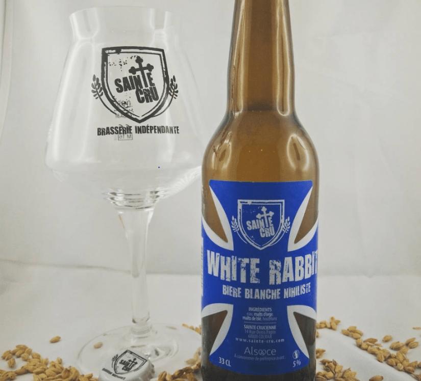Bière White Rabbit brasserie Sainte cru