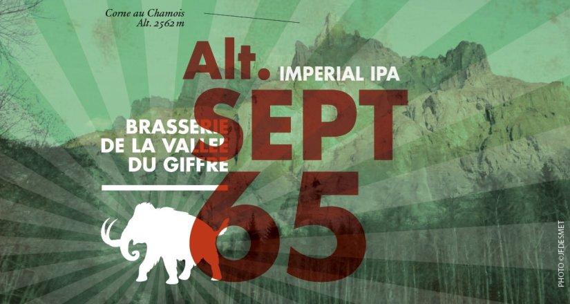 La bière double IPA Alt Sept 65