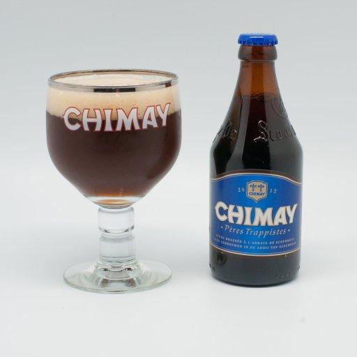 Biere chimay bleu