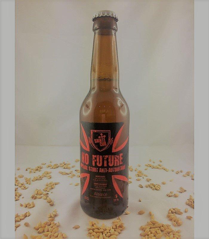 bière artisanale française No future brasserie Sainte Cru