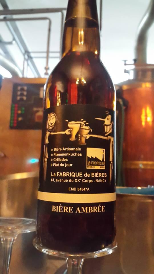 La fabrique de bière bar à bière nancy