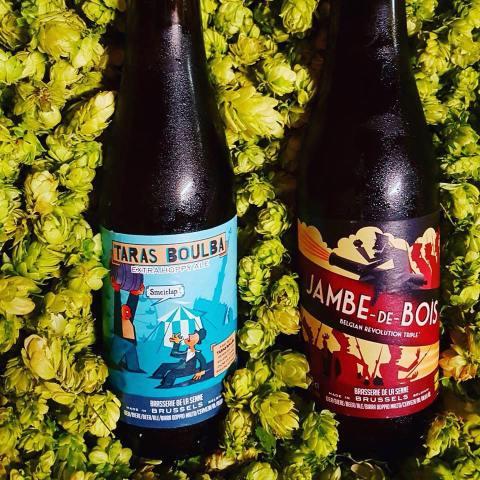 Taras boulba bière belge brasserie de la Senne