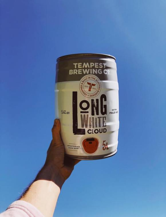 Tempest Brewing Co Long white cloud