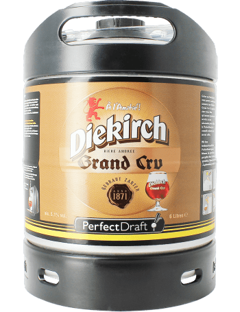 Fut machine à bière perfectdraft Diekirch Grand cru