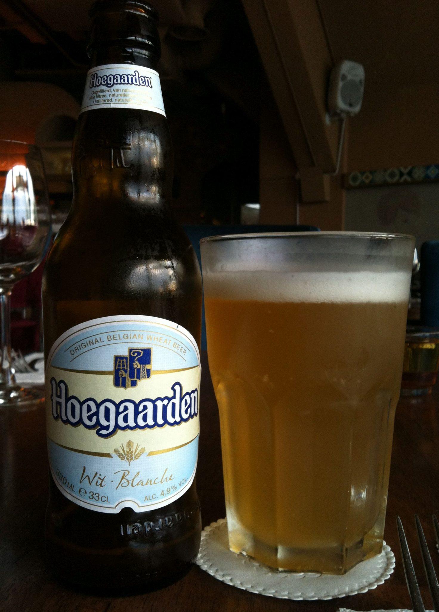 Bière blanche Hoegaarden
