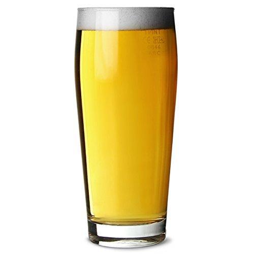 Pinte de bière verre Willy Becher