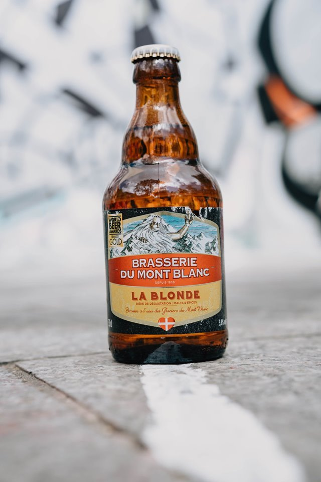 bière blonde brasserie du mont blanc