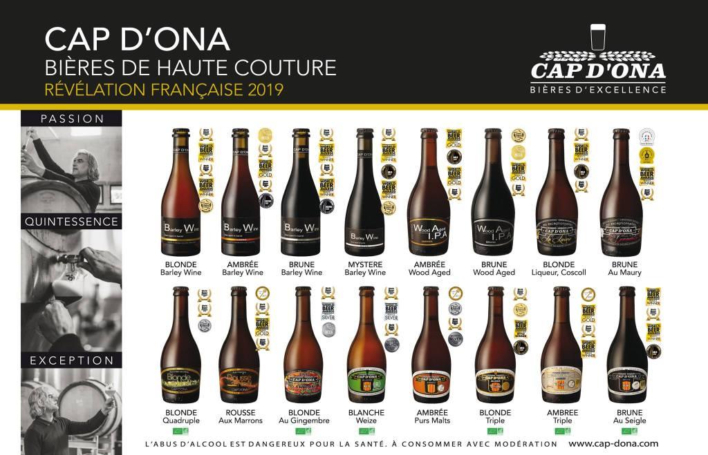 Bière brasserie Cap d'Ona