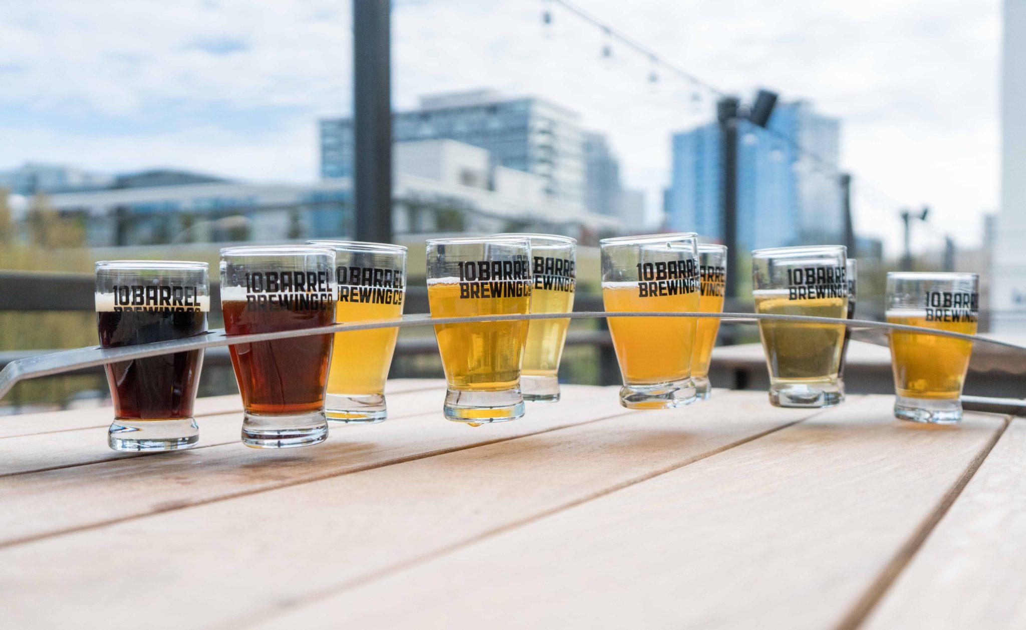 Photo de différentes bières