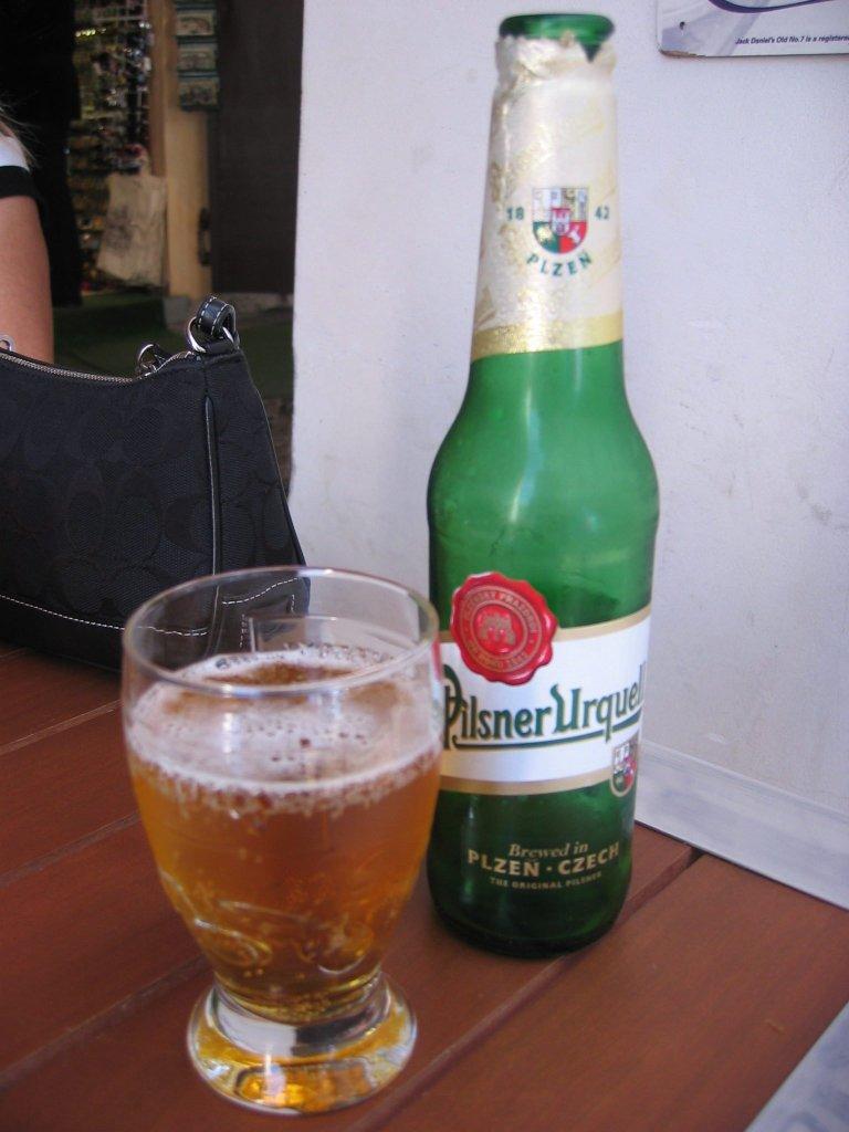 Bière Pilsner Urquell de style Lager