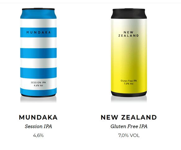 Bière Mundaka et New Zealand bière italienne