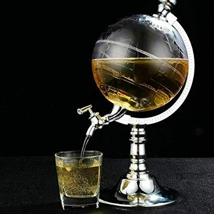 Globe distributeur de boisson