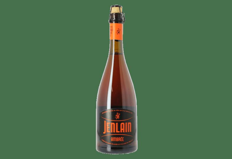 Brasserie Jenlain bouteille bière ambrée
