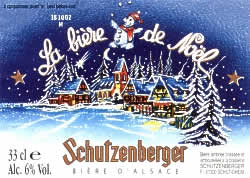 Bière de noël Schutzenberger