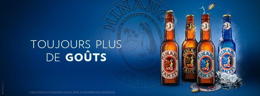 Bière Hinano brasserie de tahiti