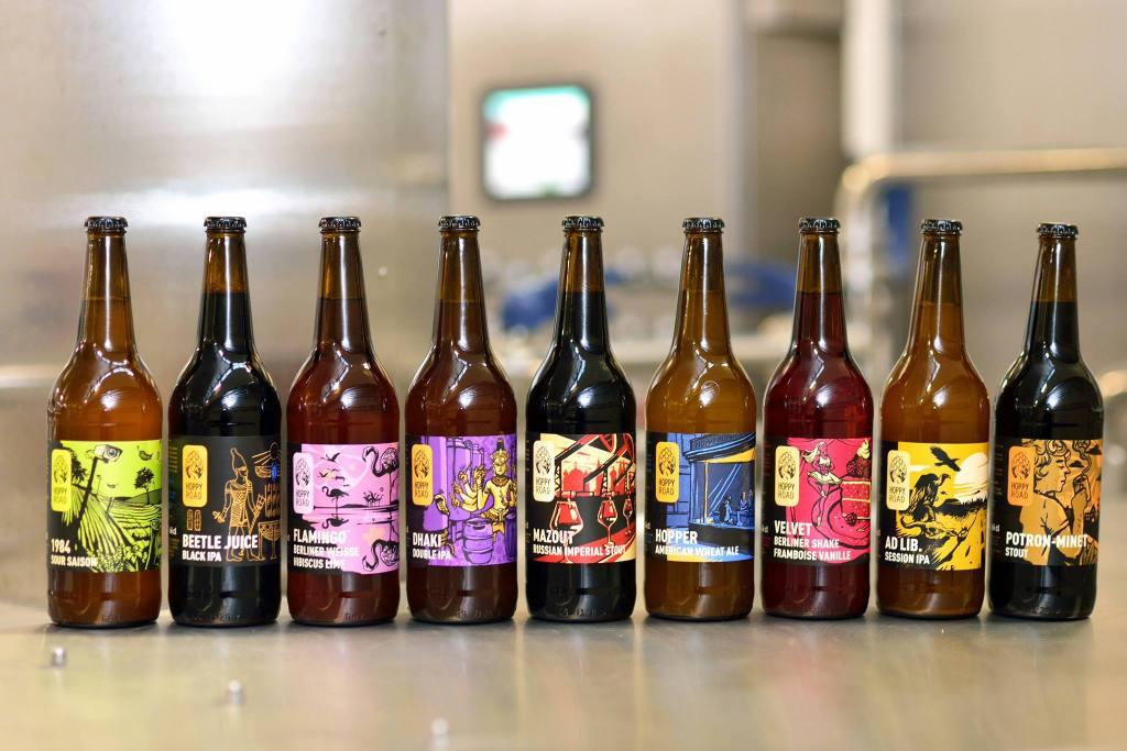 Gamme bière Brasserie Hoppy Road Nancy