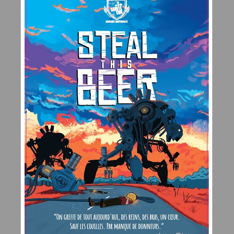 Bière Steal this beer Sainte Cru