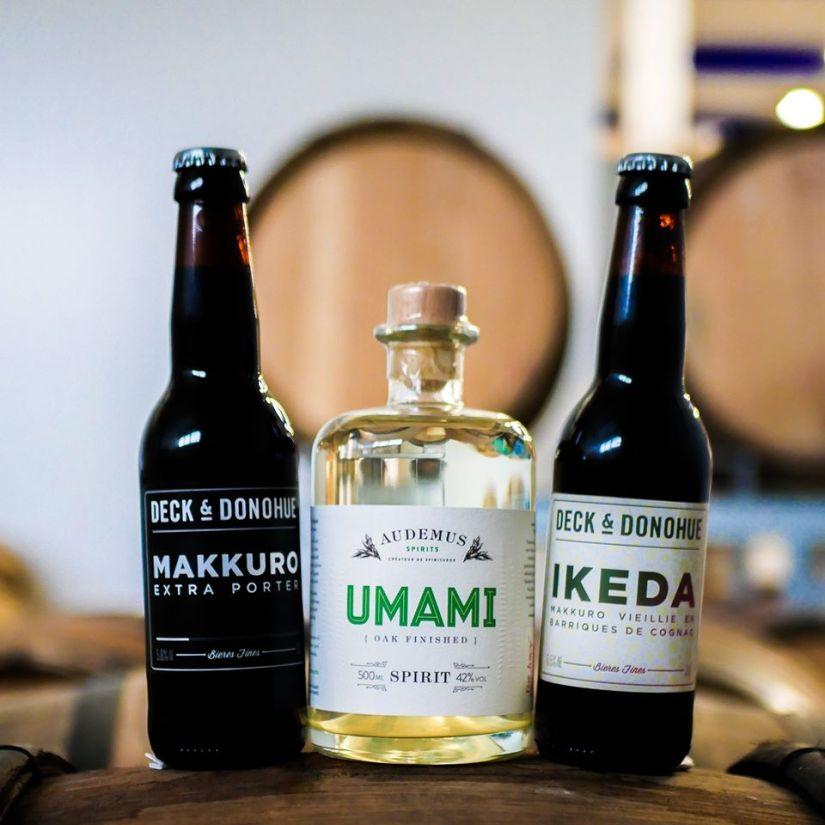 Bière Ikeda vieillie en fût de chêne