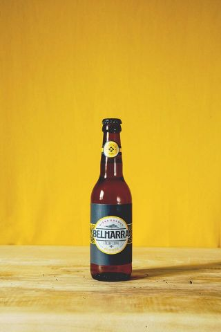 Bière blonde brasserie Belharra