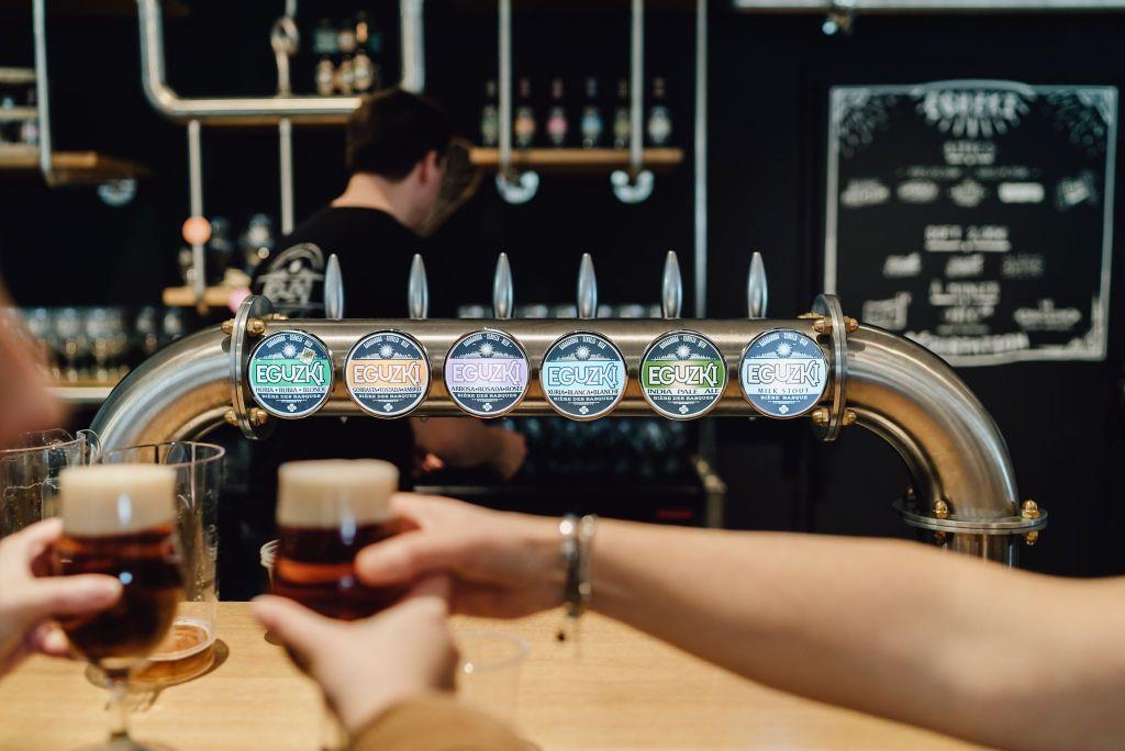 Bière Eguzki à la pression