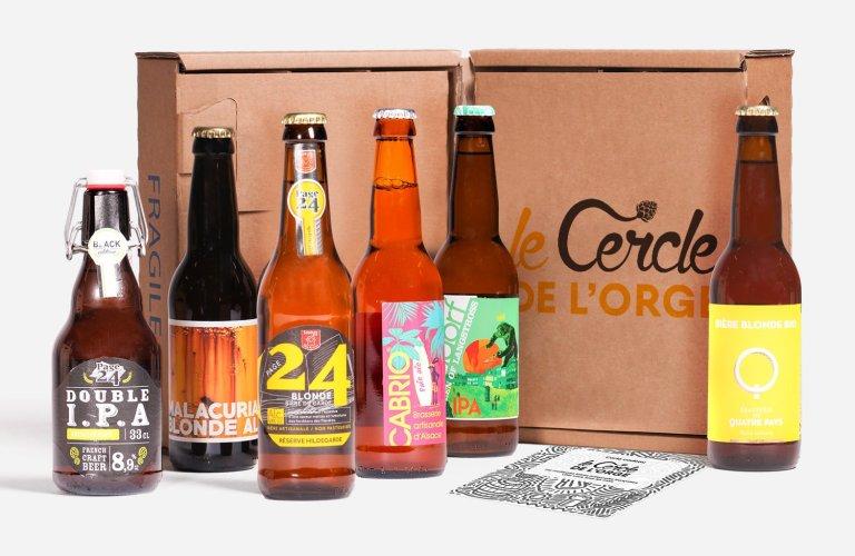 Box bière Cercle de l'orge