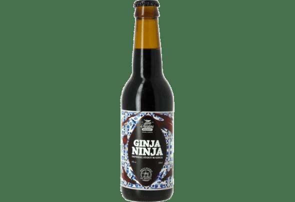 The Ginja Ninja beer from the Mean Sardine Brewery