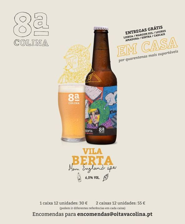 New England IPA beer from the Oitava Colina brewery