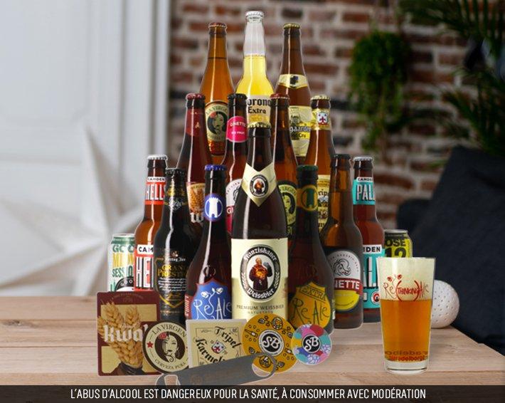Coffret beer daddy Saveur bière