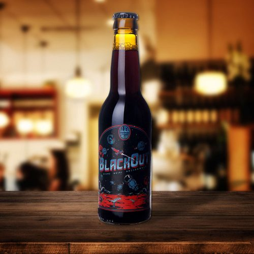 Bière Alien Blackout brasserie la choulette
