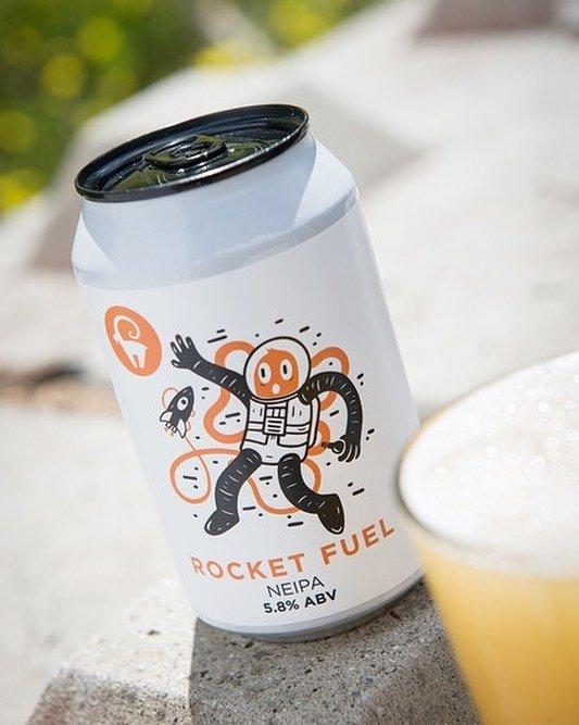 Rocket fuel bière canette brasserie IBEX