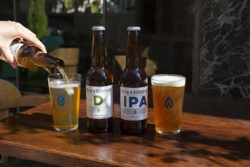 Bière D PIlsner et IPA Deck et Donohue