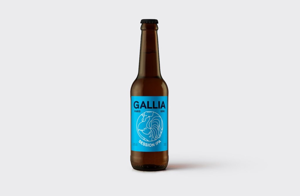 Bouteille gallia session IPA