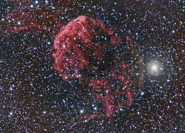 Jellyfish Nebula – IC 443 | BrewSky Observatory