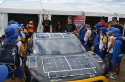 Solar cars with UWS