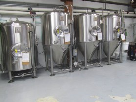 Fermenting and conditioning tank.
