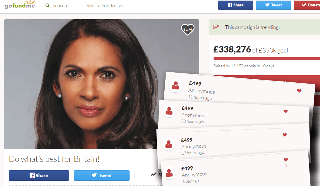 How Gina Miller is exploiting a legal loophole that allows foreign cash to support anti-Brexit candidates