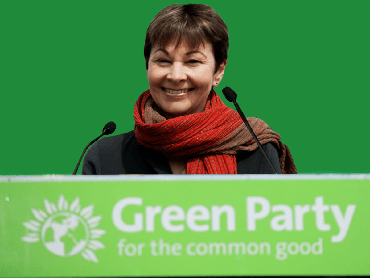 Green Party promises a second EU referendum with the option of remaining in the EU