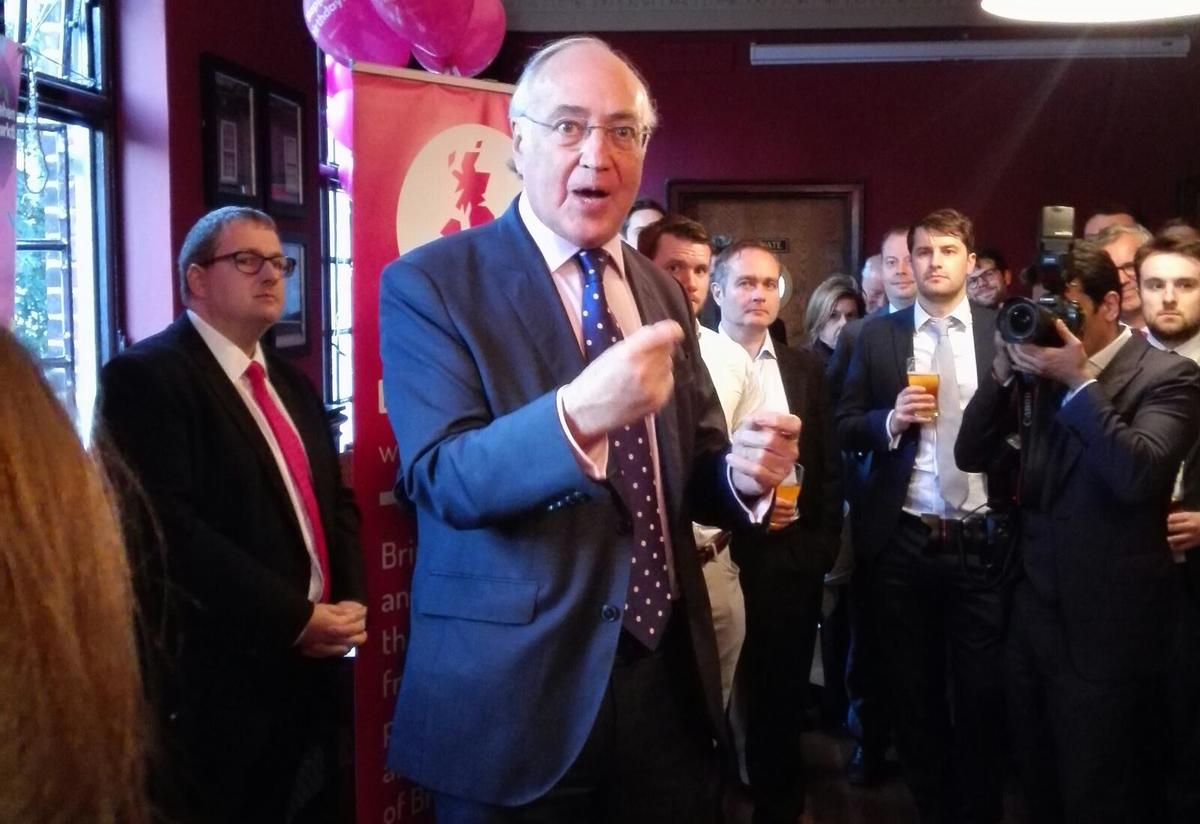 WATCH: Michael Howard says Barnier acts like he's defeated us in war