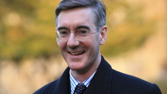 Jacob Rees-Mogg: No new laws during implementation. Full Stop.