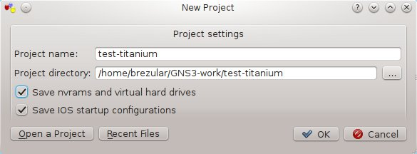How to connect Cisco NX-OS emulator – Titanium 5 1 2
