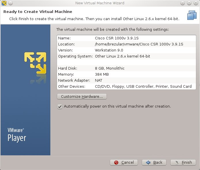 Router Software For Vmware Workstation