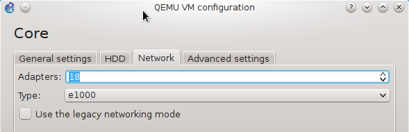 How to configure GNS3 installed on Linux to support more