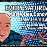 Marty on Saturday from 1pm till 4pm