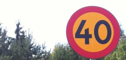 Sänkt hastighetsgräns på Myrstuguvägen