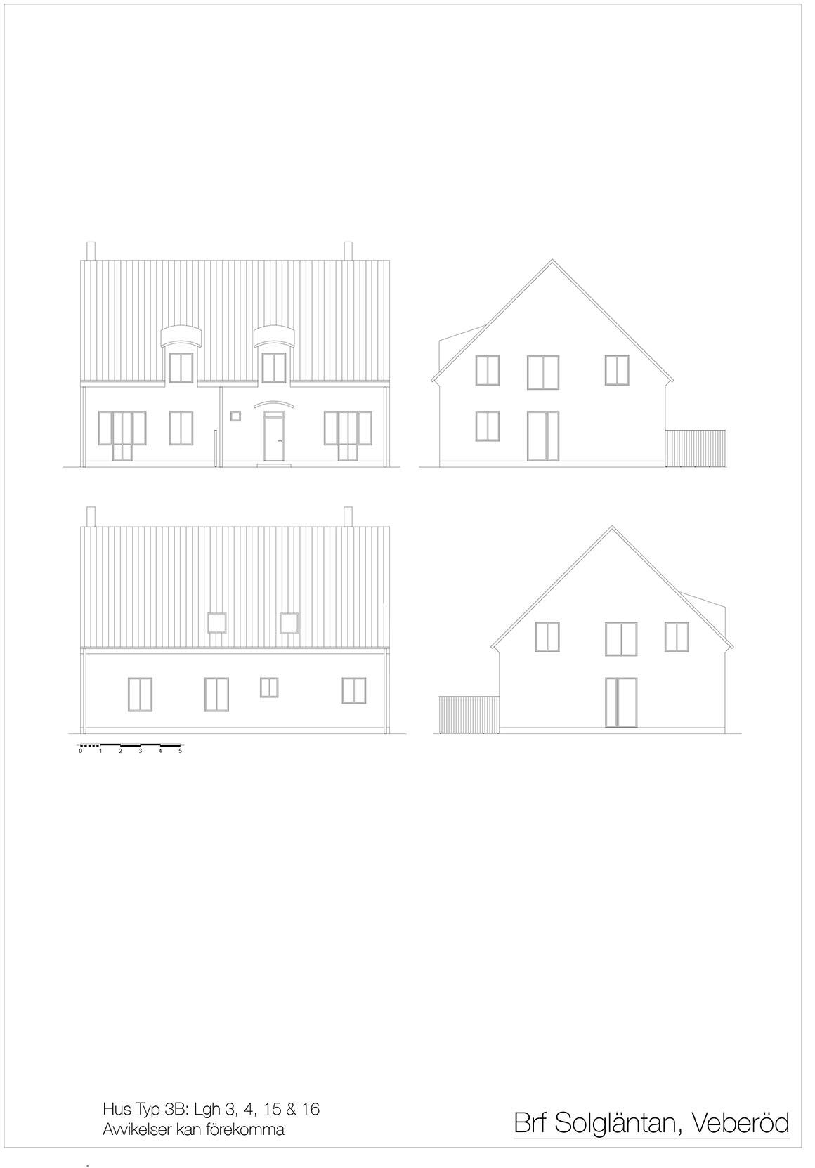09 Hus Typ 3B Fasader _ Layout