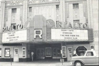 Another view of North Litlte Rock's Rialto Theater, this time in 1963.