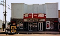 Booneville's Savage Theater, 180 N. Broadway Ave., circa 1987. The theater had been open on weekends but closed in 2012.