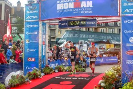 Ironman Mont-Tremblant 2016 - Finish