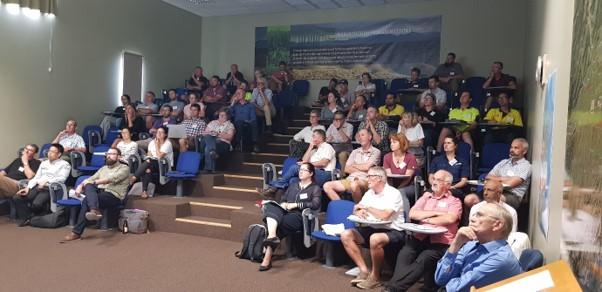 Attendees at the GYA seminar in Marlborough.